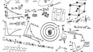 化学に関するイラスト
