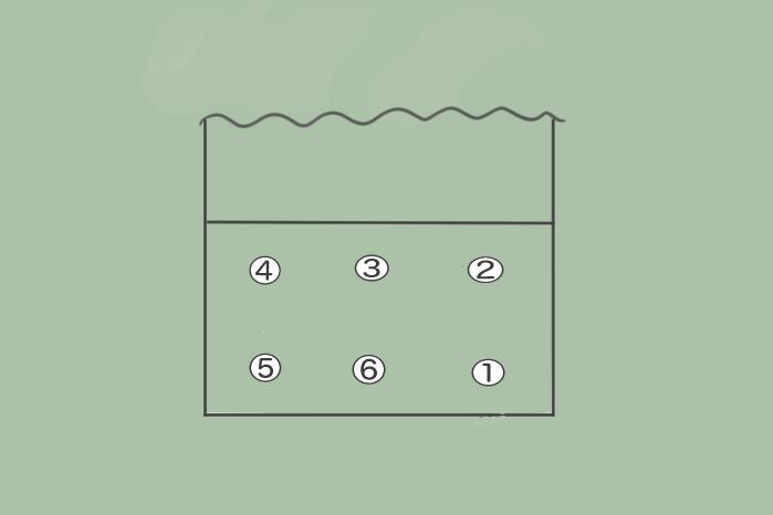 バレーボールのローテーションについてのテストのイラスト