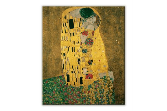クリムトの接吻の画像