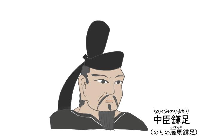 中臣鎌足のイラスト